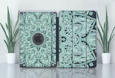Mandala iPad 10.2 Hard Back Case Smart Cover Design Apple iPad Pro Air Mini 3 4