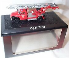 Atlas Fire truck Collection Opel Blitz approx 1-72 Scale New in case boxed