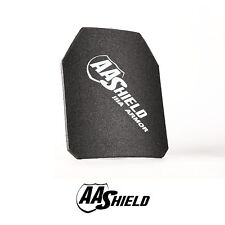 AA Shield Ballistic Light Weight Body Armor Hard Plate Lvl IIIA 3A 10x12 Cut