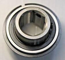 "Premium New 205KRR2-SS1/4-NR Bearing 7/8"" Hex Bore w/ Snap Ring & 2 Set Screws"