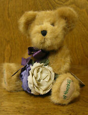 """Boyds Plush #903026 FLORA THANKSABUNCH, 8"""" NEW/Tag From Retail Store, Jointed"""