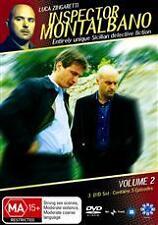 INSPECTOR MONTALBANO - VOLUME 2 (3 DVD SET) BRAND NEW!!! SEALED!!!