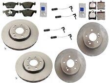 For Mercedes W210 E430 Base 98-02 Pagid/Brembo Full Brake KIT Rotors Pads Sensor