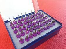 x50 CARBIDE MICRO DRILL SET 0.40mm ( Mini Drills For Steel Glass Jewellery maker