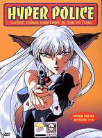 Hyper Police Episodes 5-8 (Vol 2)  - Anime DVD Image Entertainment