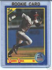 Sammy Sosa 1990 90 Score Rookie Card