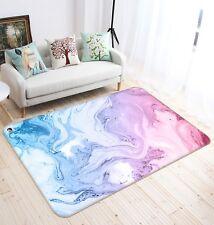 3D Abstract Blue Purple 2 Non Slip Rug Mat Room Mat Quality Elegant Photo Carpet