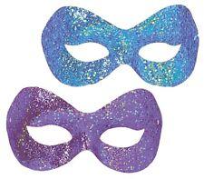 Hollywood Purpurina Baile De Máscaras Lila Azul Antifaz Fiesta De Disfraces