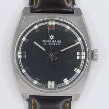 Junghans Edelstahl Herren Armbanduhr Handaufzug Klassiker aus den 1970er Jahren