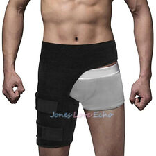 Copper Compression Brace Groin Thigh Sleeve Hip Support Wrap for Sciatic Nerve