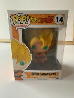 Funko Pop! Dragon Ball Z - Super Saiyan Goku #14 Vinyl Figure NEW