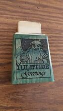 Roseart Zippo lighter ltd edition 1of 20 table top  Christmas Yuletide Greeting