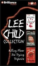 Lee Child Collection: Killing Floor, Die Trying, Tripwire.. On 6 Cassettes.. NEW