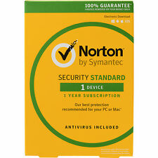 Norton Security 2017 1 Device Windows Mac Android iOS SEND KEY FREE POST