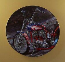 Pride of America Plate Brotherhood Of Honor Motorcycle Patriot Marc Lacourciere