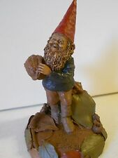 "Nos Vtg Tom Clark Gnome ""McEver"", 1985, Ed #53, 7 x 4 1/2"" Never Owned!"
