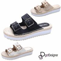 NEW Womens Fashion Shoes Platforms Wedges Sandals Strappy Open Toe Multi Color