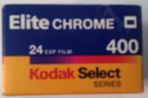 Expired Kodak Select Elite Chrome 24 Exposure 400 Speed Slide Film 08/2001
