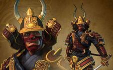 A4 Poster – Japanese Grand Master Samurai Warrior (Picture Print Fighting Art)