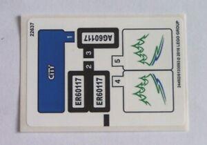 LEGO® Aufkleber / Sticker für Nr. 60117