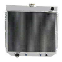 3 ROW Aluminum Radiator FOR 1966-1970 Ford Falcon,1970 Mercury Cougar XR7