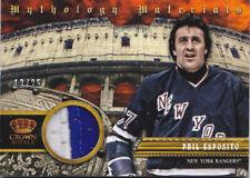13-14 Crown Royale Phil Esposito /25 Jersey PRIME Mythology NY Rangers 2013