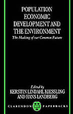 POPULATION, ECONOMIC DEVELOPMENT AND THE ENVIRONMENT., Lindahl-Kiessling, Kersti