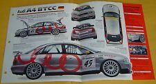 1996 Audi A4 Quattro BTCC Super Touring 1998cc 4 Cyl Bosch MEFI Specs/photo 15x9