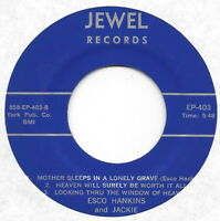 ESCO HANKINS & TED MULLINS on Jewel EP 403 gospel bopper EP 45 HEAR