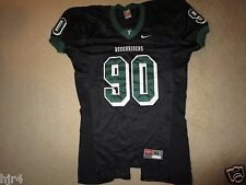Roughriders #90 Football Game Worn Black Nike Jersey XL