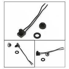 """New 12V Waterproof Push-Button On-Off Switch With 4"""" Leads Motorcycle Car Boat"""