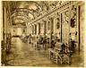 France, Paris, Louvre, Galerie d'Apollon  Vintage albumen print.  Tirage