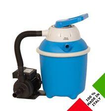 Pompa con filtro a sabbia 7 vie per piscina piscine da 4 m³/h nuova mod. 1015