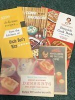 Lot of 5 circa 1950's Vintage Advertising Cook Booklets and Recipe Brochures