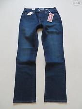 Levi's L32 Damen-Jeans mit geradem Bein und mittlerer Bundhöhe