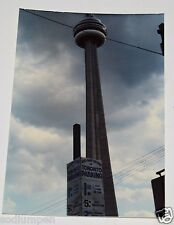 RARE Original Vintage Photograph CN Tower Toronto Canada Observation Landmark