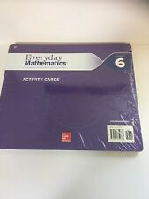 Everyday Mathematics Grade 6 Activity Cards McGraw Hill U of Chicago New Sealed