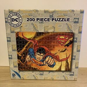DC ORIGINALS - SUPERMAN PUZZLE - 200 Piece - Counted And Complete