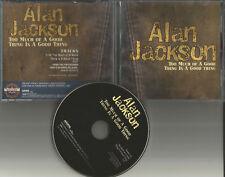 ALAN JACKSON Too Much of a Goo thing is PROMO Radio DJ CD Single 2004 USA MINT