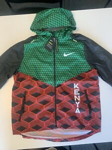 Mens Nike Podium Jacket  Kenya 2021 Tokyo Running Men's Large  Track and Field