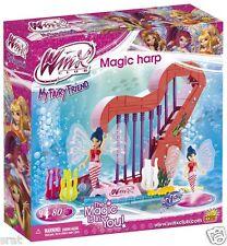 Winx Club Musa Magic Harp / harph Construcción Bloques / Ladrillos por Cobi 80 un.