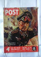 Picture POST April 25,1953 Vol.59 No.4 Auchinleck on Rommel's Plan Capture Egypt