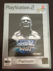 WWE Smackdown! Here Comes the Pain - PS2 PlayStation 2 - Complete with manual