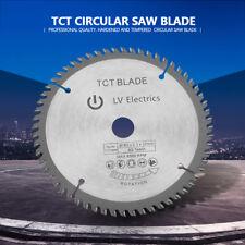165mm 60 Teeth Circular Saw Blade Wood Cutting Discs + Reduction Ring