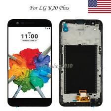 For LG K20 plus TP260 MP260 LCD Display Touch Screen Digitizer Frame Replacement