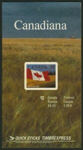 Canada 1192a Booklet BK114a sealed MNH Flags