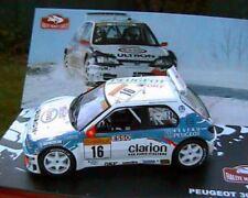 PEUGEOT 306 wrc #16 MAXI RALLYE MONTE CARLO 1998 PANIZZI 1/43 rally