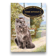 Maine Coon Cat A House is Not a Home Fridge Magnet No 5
