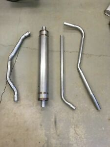 1953-1954 Pontiac 8 Cylinder Complete Single Exhaust System