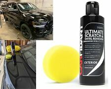 Scratch Swirl Remover Car Paint Kit Polish Cleaner Repair Restoration Black Care